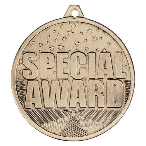 Cascade Special Award Iron Medal Antique Gold 50mm